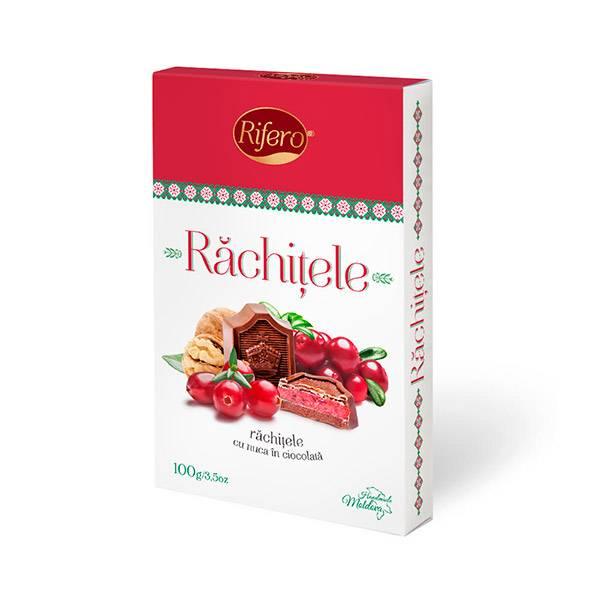 Bomboane Rachitele in ciocolata   RIFERO, 100g