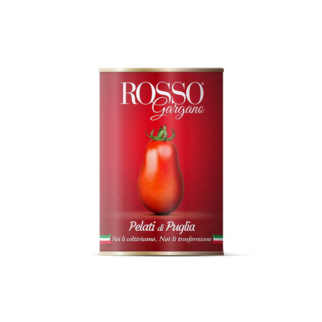 Tomate ROSSO Gaargano curatate 400 gr