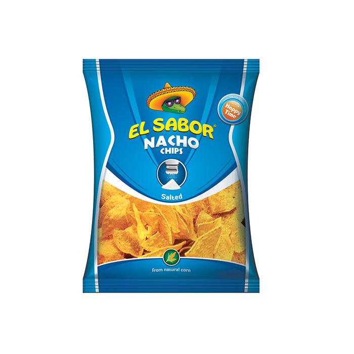 Chipsuri de porumb EL SABOR sare 100g