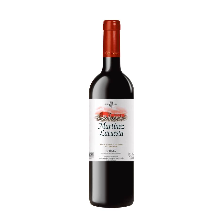 Красное вино RIOJA MARTINEZ LACUESTA 2018 13.00% VOL, 0.75 л