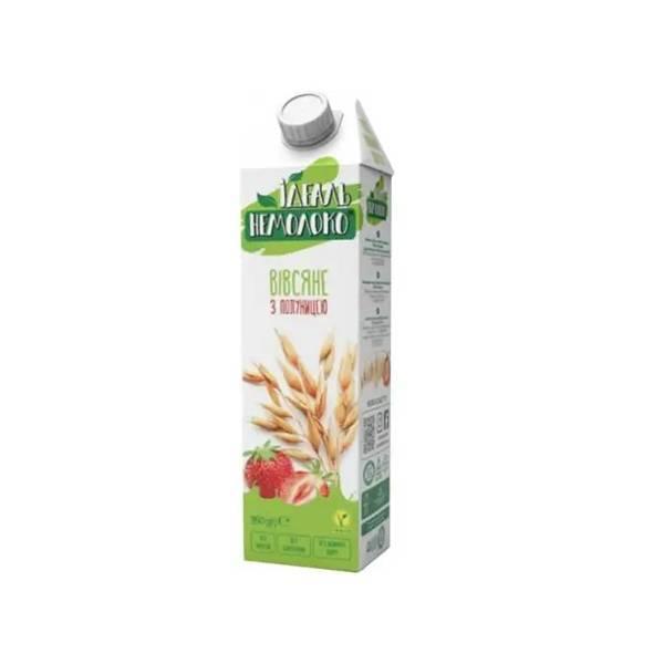 Напиток овсяно-клубничный 1.5% Идеал Немолоко 0.95л