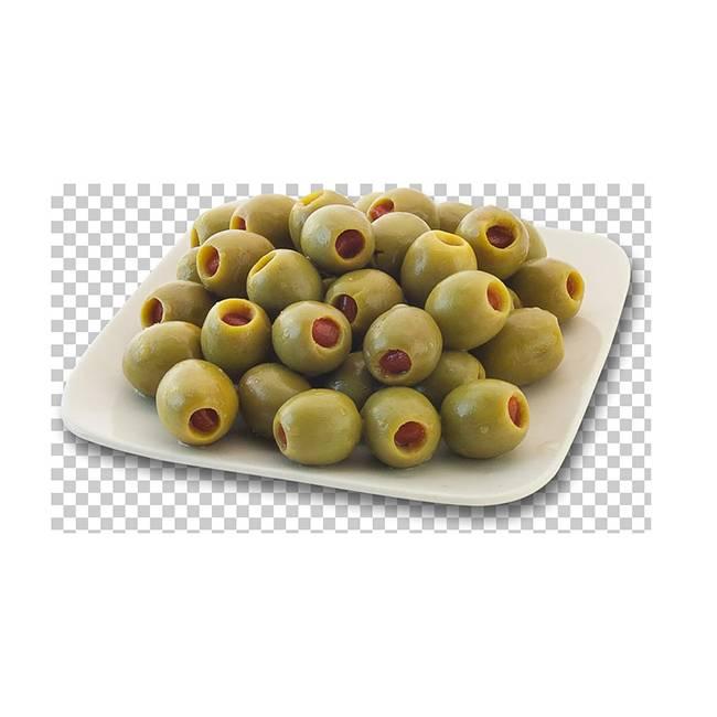 Оливки с анчоусом Karina  кг