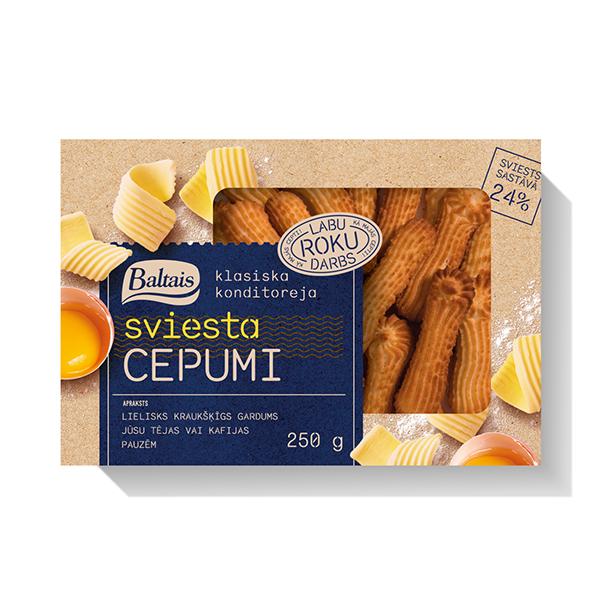 Печенье с маслом  Baltais 250 гр.