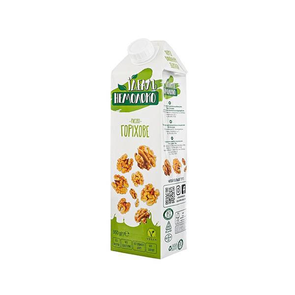 Напиток овсяный с орехами 4% Идеал Немолоко 1л