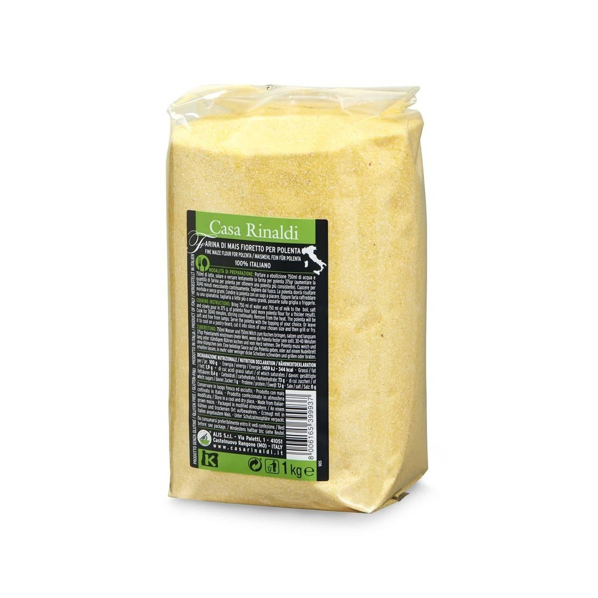 Făină de porumb Fioretto Casa Rinaldi 1kg
