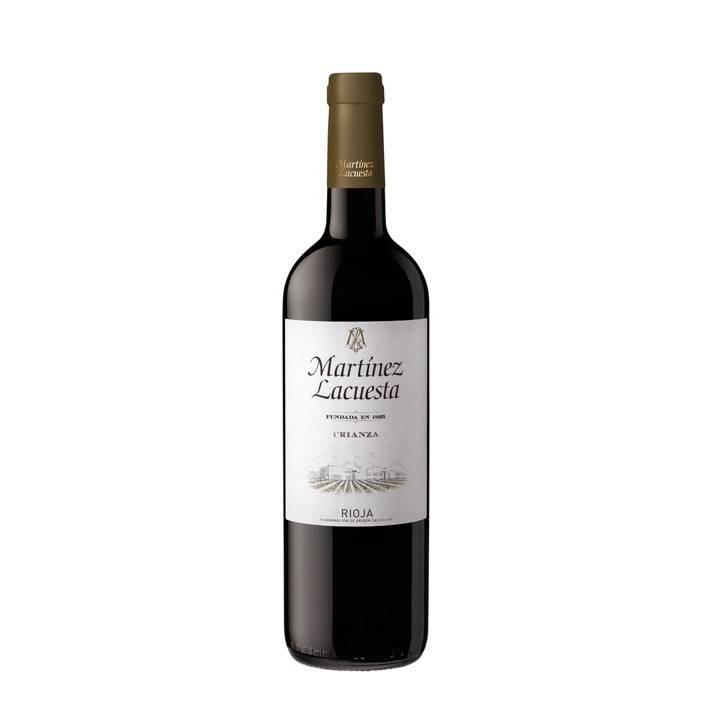 Красное вино CRIANZA RIOJA MARTINEZ LACUESTA 2016 13,50% VOL, 0,75 л