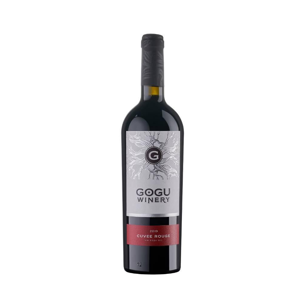 Gogu Winery Blanc de Merlot vin alb sec 0.75L-coppy