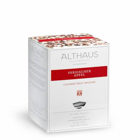 Чай Althaus Pyra Pack Persischer Apfel 15pac, 41,25 г