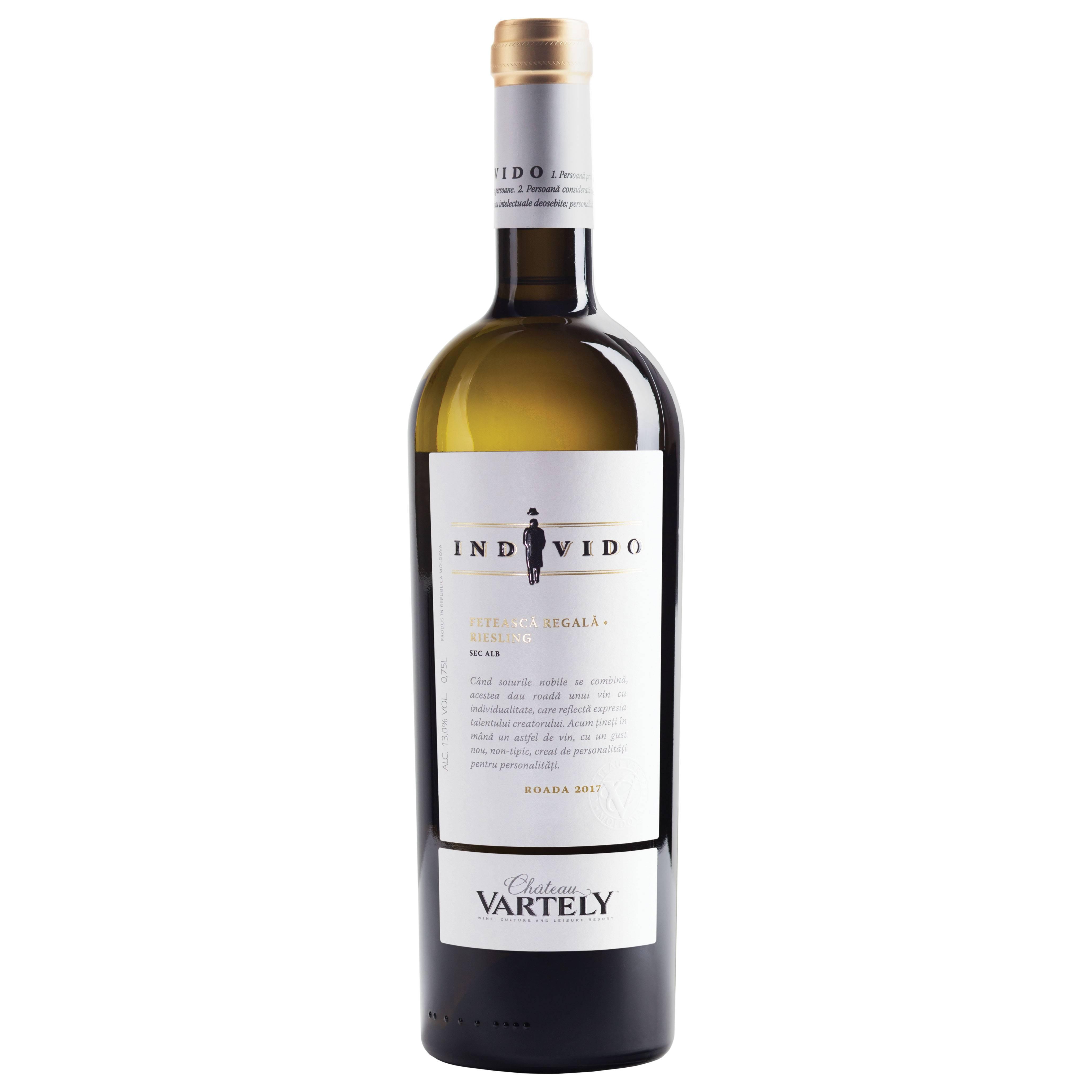 Vin alb Feteasca Regala & Riesling  2017, 0.75L