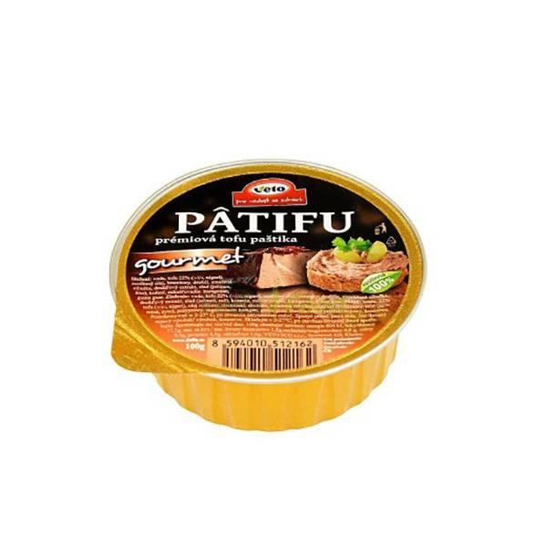 Pate vegan Patifu Gourmet 100g, VETO
