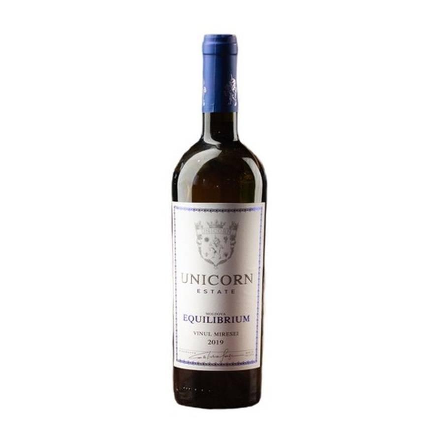 Unicorn Equilibrium Vinul Miresei 2019 Alb Demisec 0.75L