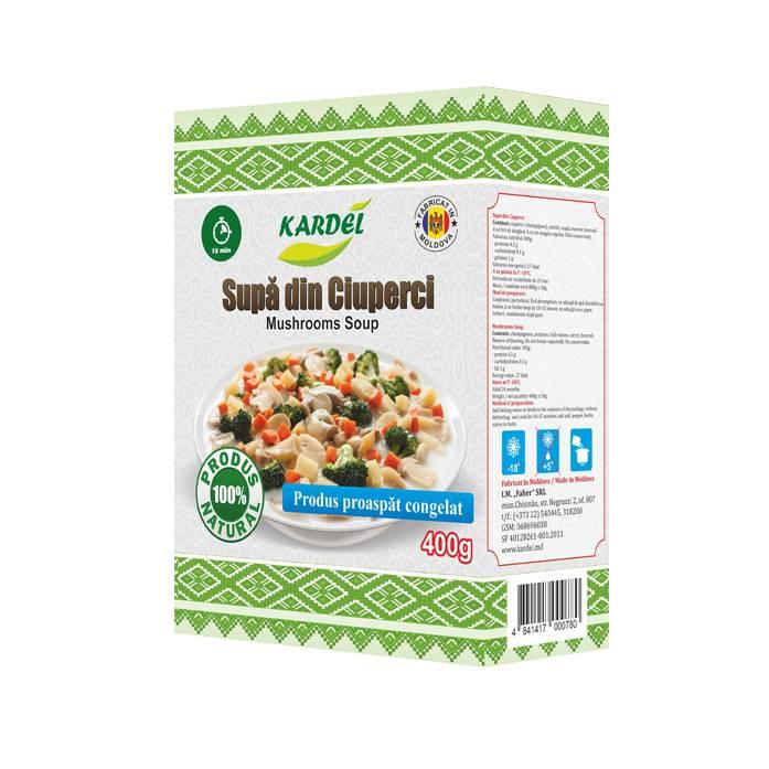 Supa din ciuperci Kardel, 400g
