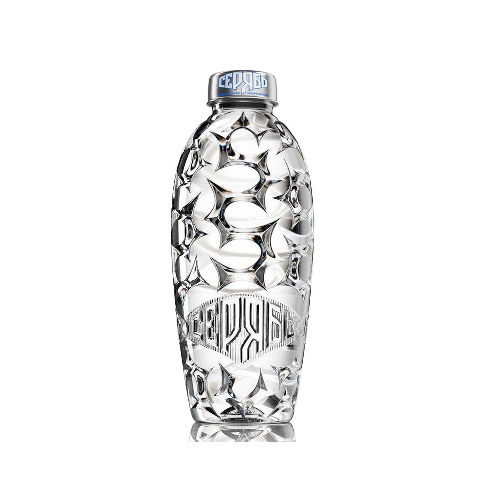 Питьевая очищенная  вода без газа SERYAB 0,5 л