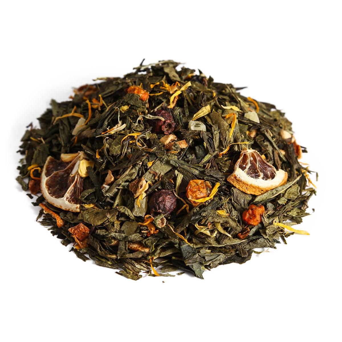 """Ceai verde """"Catina cu lamaie"""" 100g"""