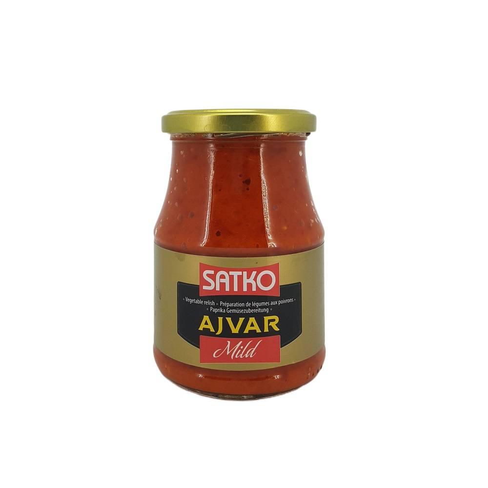 AJVAR bulgaresc SATKO 350 g