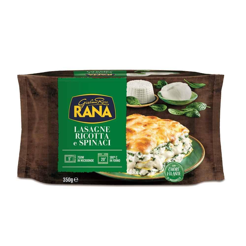 Fresh Lasagne Ricotta e Spinaci