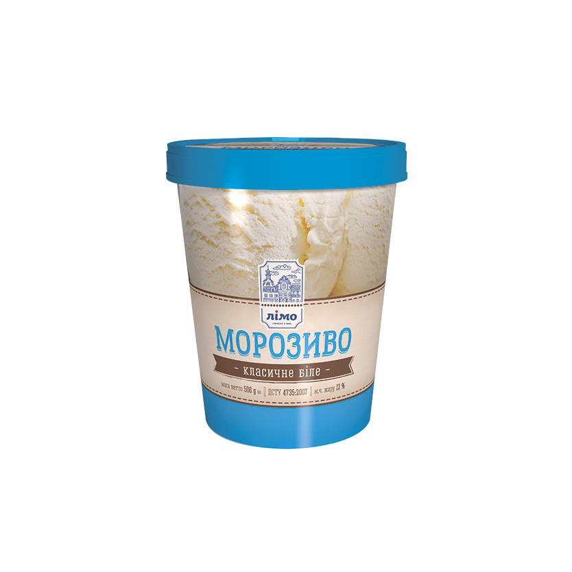 Классическое мороженое в ведре Limo 500 г