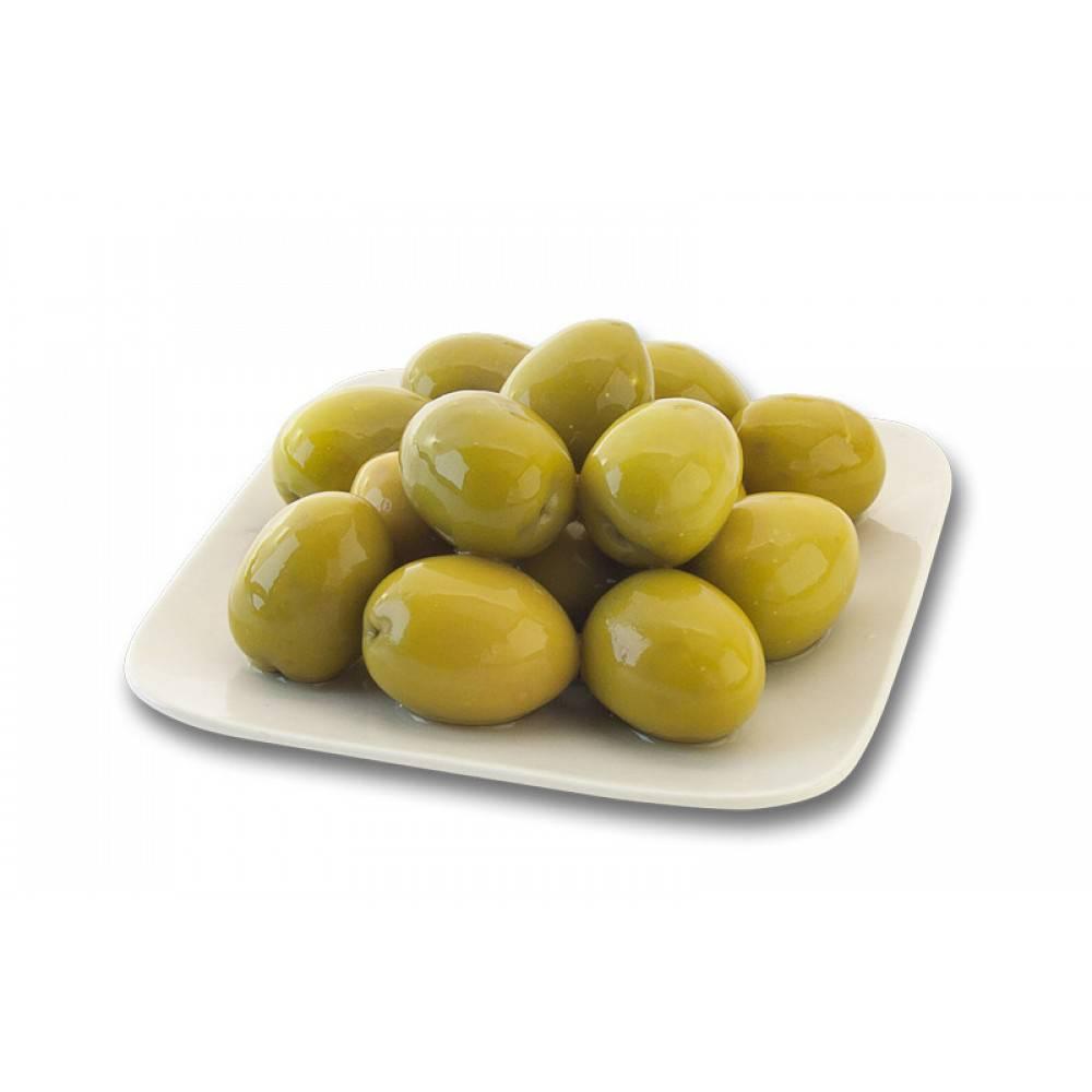 Зеленые оливки с косточкой ELITA, кг