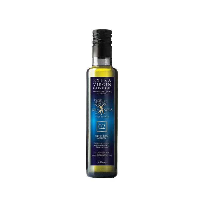 Ulei de olive Extra Virgin (0.2%), Xrysanoos 500ml
