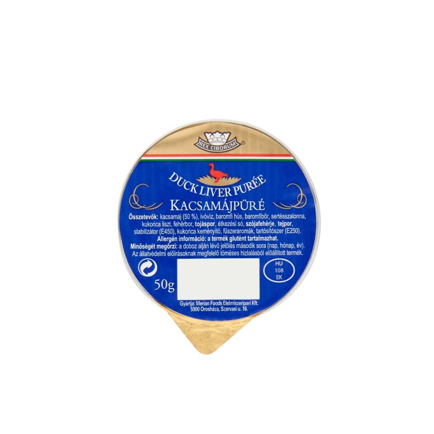 Foie gras de rata, pate 50g
