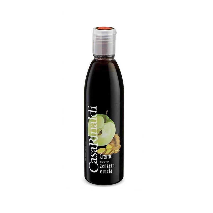 Крем-уксус бальзамический  имбирь + яблоко Casa Rinaldi 250 ml