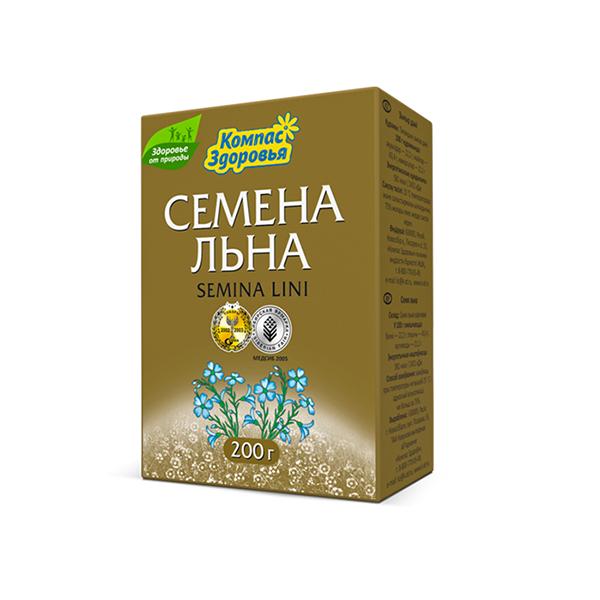 Seminte de in KOMPAS ZDOROVIA 200 gr.