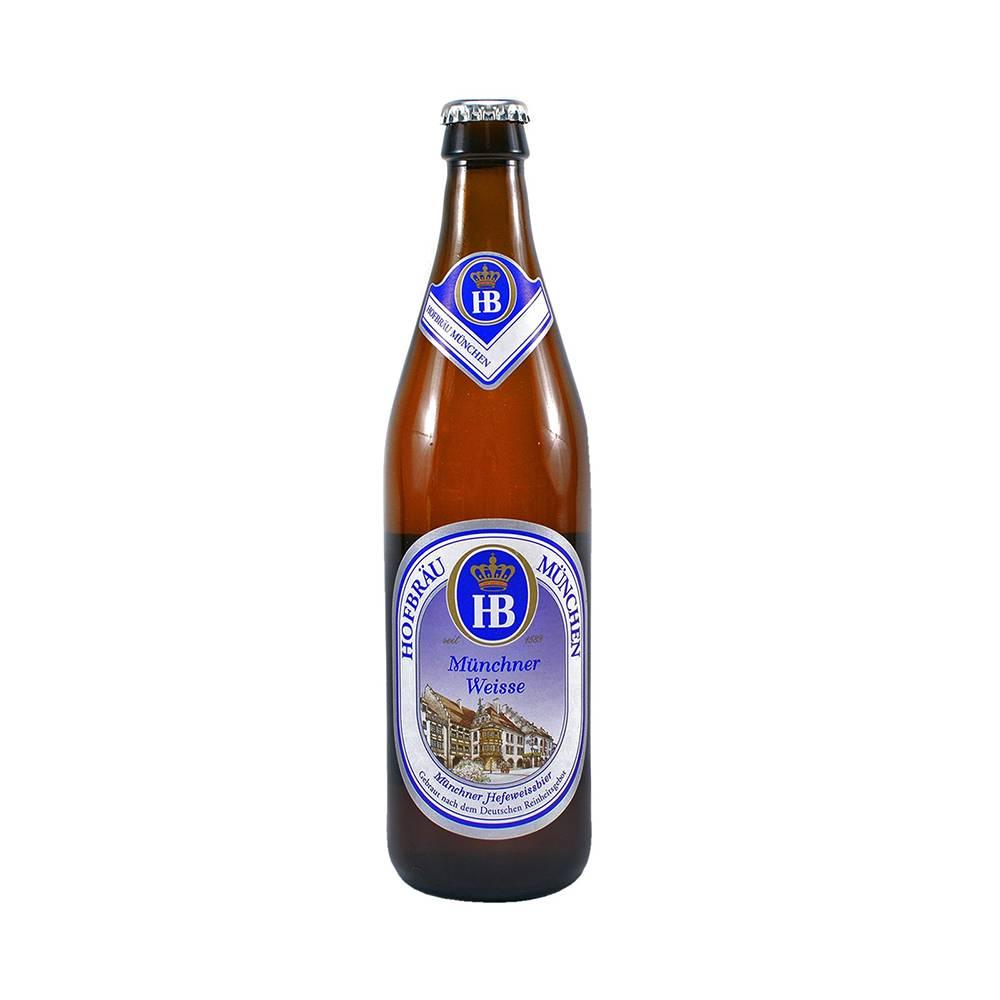 Bere blondă Hofbrau Muenchner Weisse 0.5L