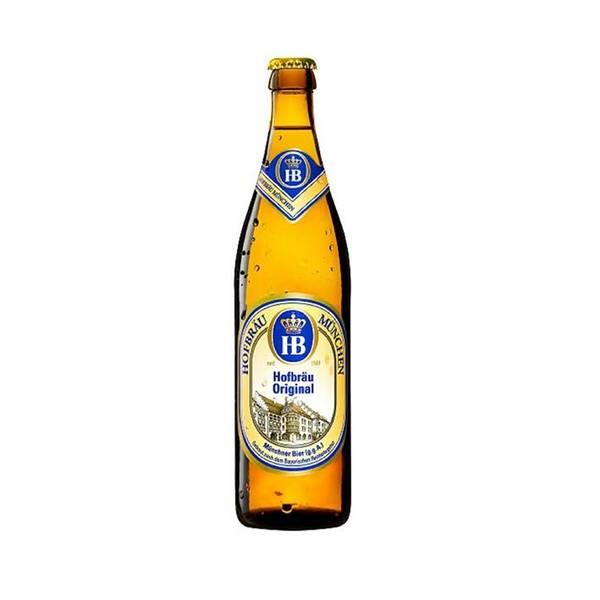 Bere blondă Hofbrau Original 0.5L