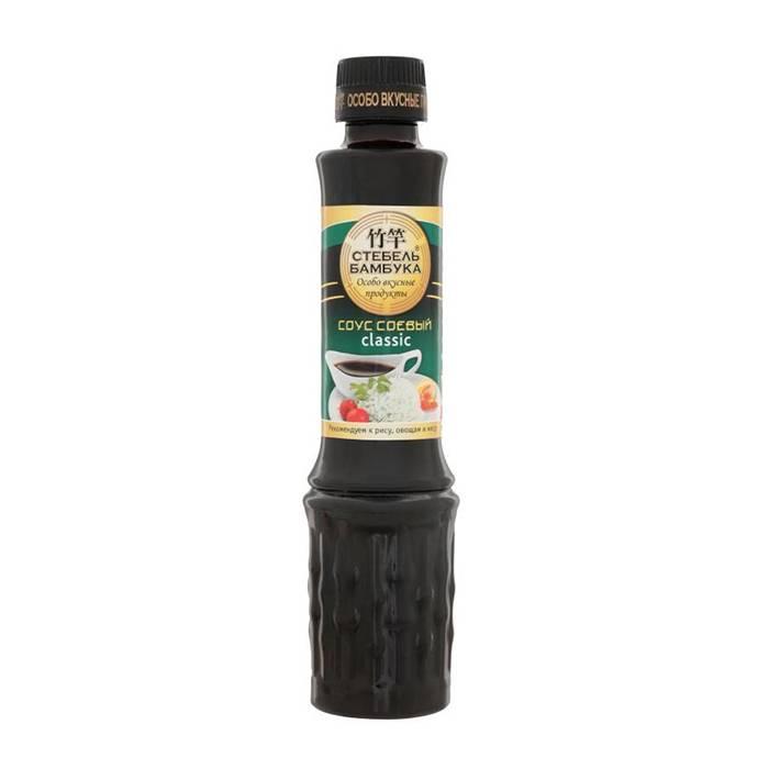 """Sos de soia clasic """"Stebeli bambuca"""" 280g"""