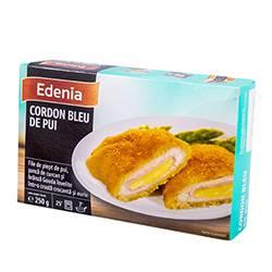 Куриное филе с ветчиной и сыром в панировке 250 гр.