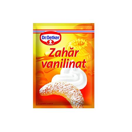Zahăr pudră cu aromă de vanilie 8g