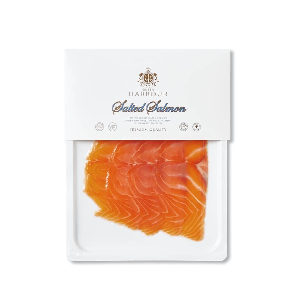Кусочки малосольного филе лосося в вакууме Royal Nordic 100г