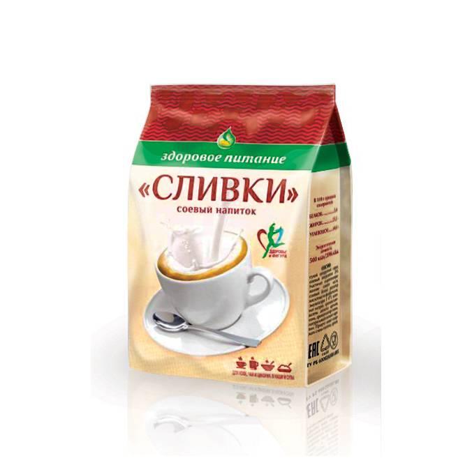 Соевый напиток СЛИВКИ Здоровое питание 150 г