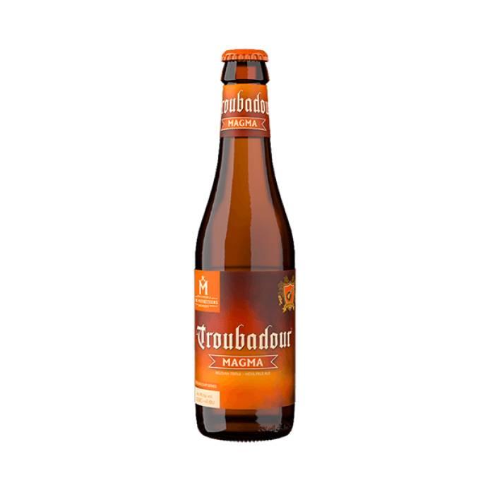 Пиво Бельгийское Troubadour Magma алк. 9% 0.33 мл.