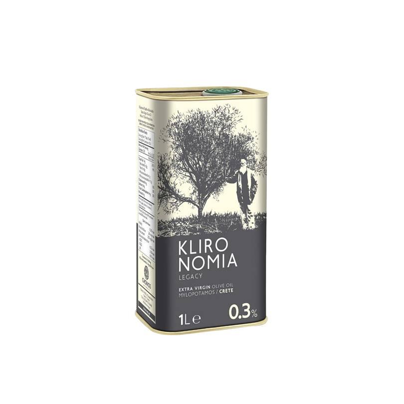 Ulei de olive Extra Virgin (0.3%) Klironomia Chonos 1000 ml