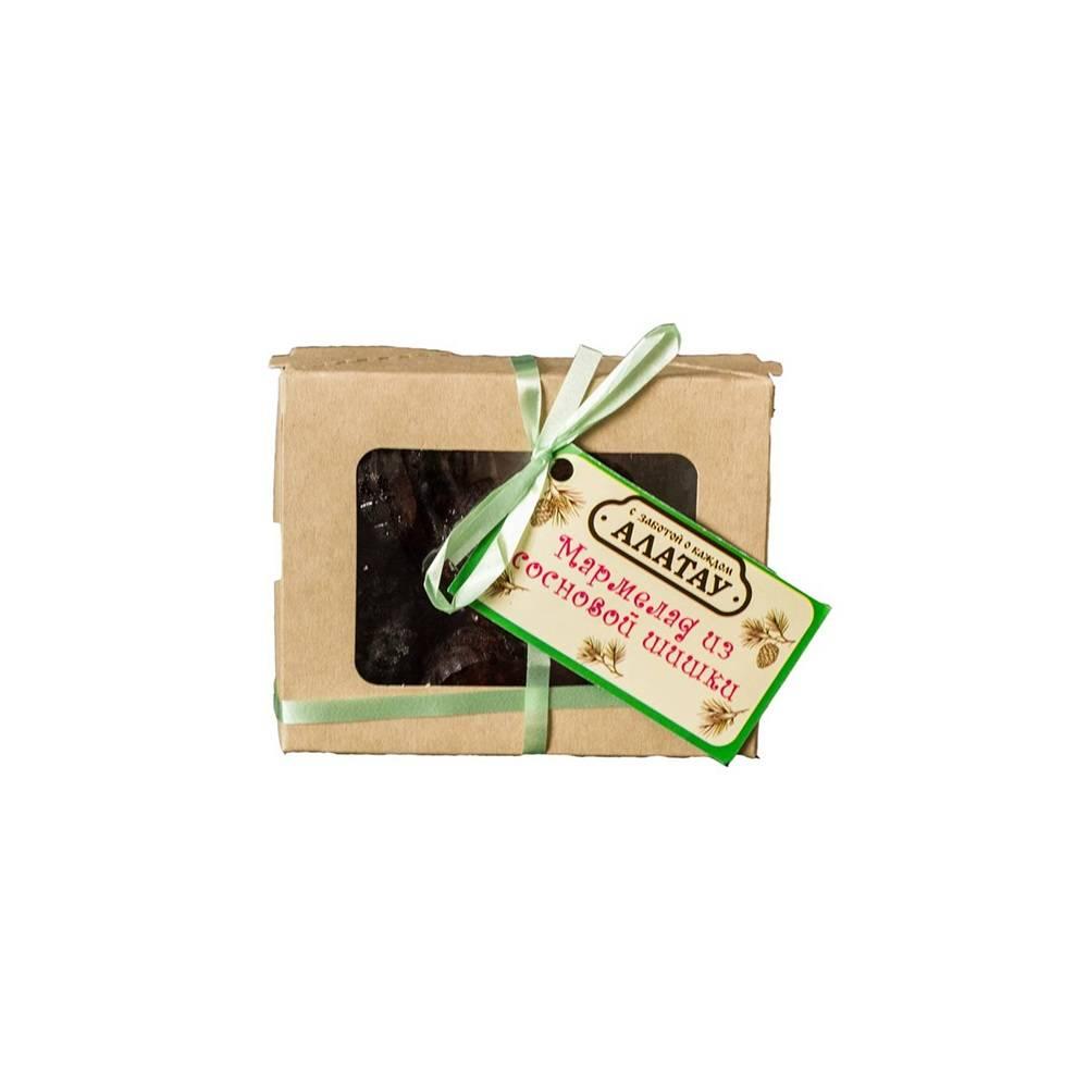 Мармелад из сосны с шишками , 110  гр