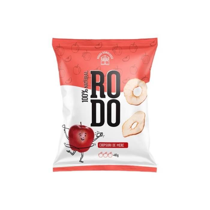 Chipsuri de mere rosii RODO 40g