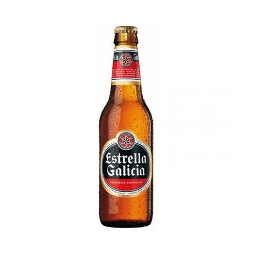 Bere Estrella Galicia 0.33ml alc.5.5% Spania
