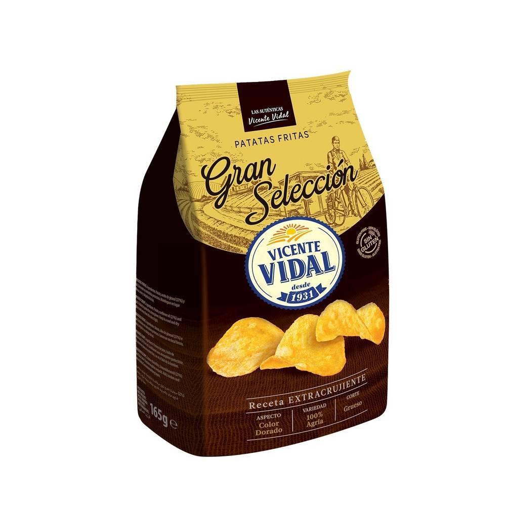 Cipsuri din cartofi VICENTE VIDAL Gran Seleccion 165gr