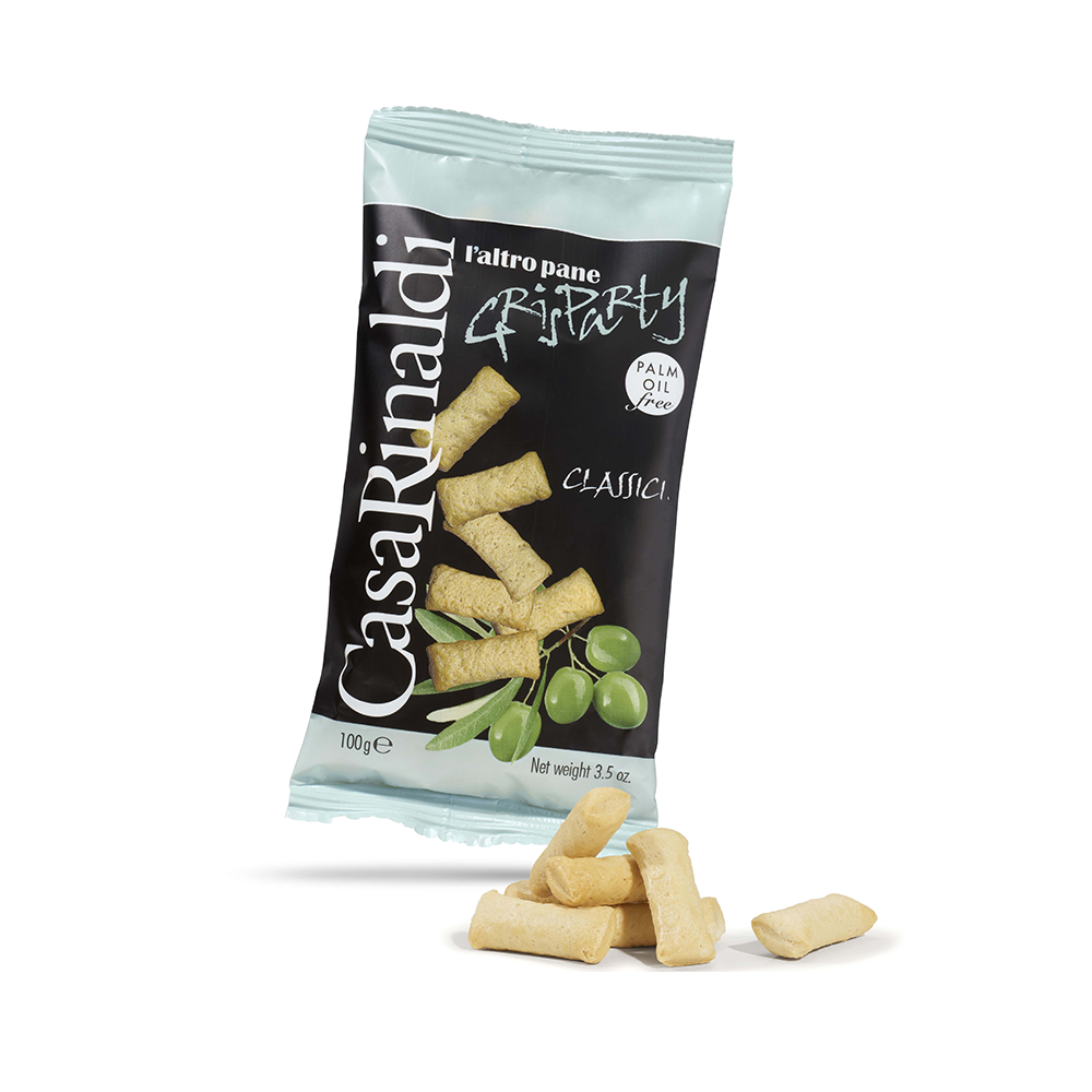 Grisparty mini grissini classici evo Casa Rinaldi 100 g