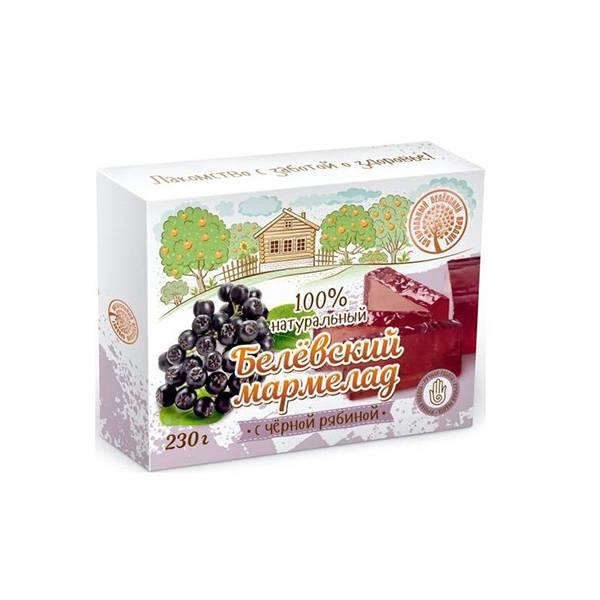Marmelada naturala de aronie neagra Belevsky product, 230 gr.