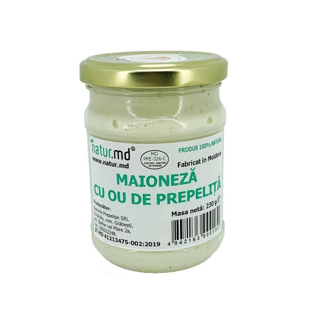 Maioneza cu oua de prepelita 230 gr