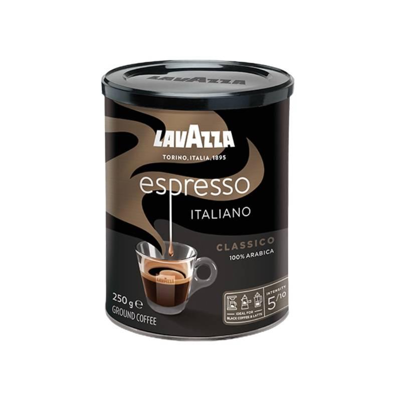 Cafea LAVAZZA  espresso naturala macinata 250 g.