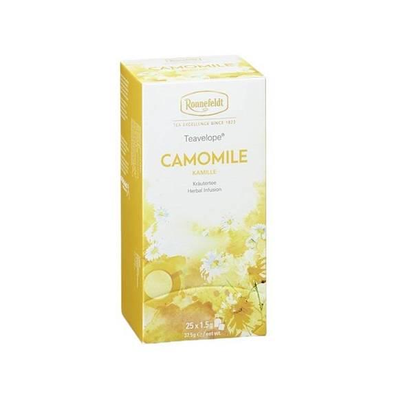 Ceai Ronnefeldt Camomile Ron 25pac 125g