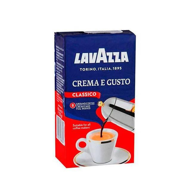 Cafea Lavazza CREMA E GUSTO  macinata 250 g.