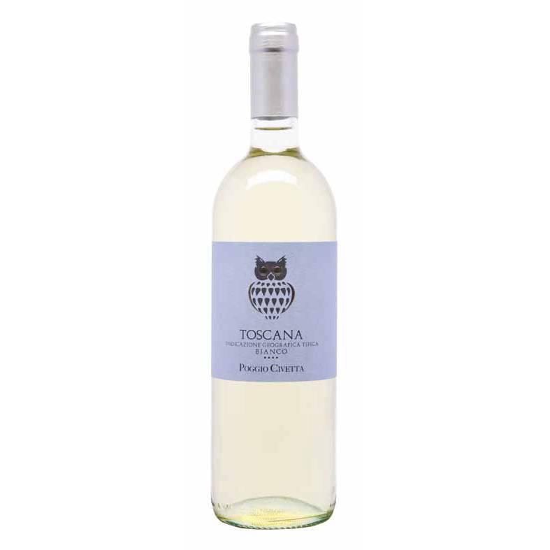 Вино Vin Poggio Civetta - Toscana Белое