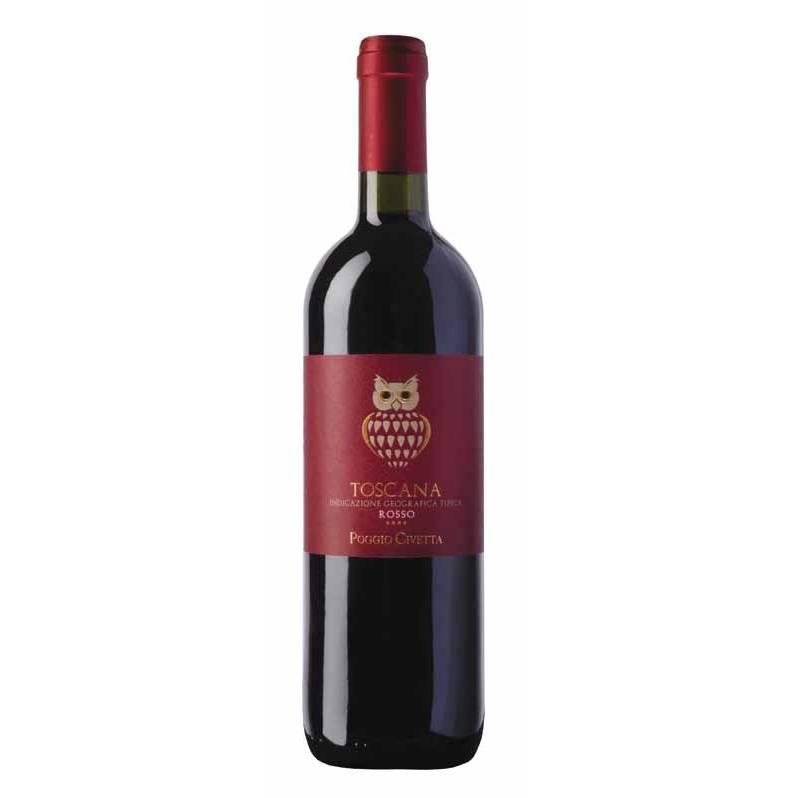 Вино Vin Poggio Civetta - Toscana Rosso