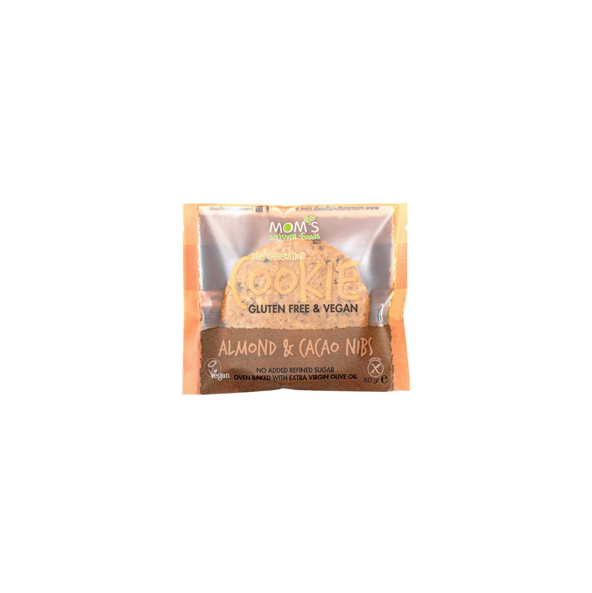 Gluten Free&Vegan Migdale/Cacao Mom's, 50g