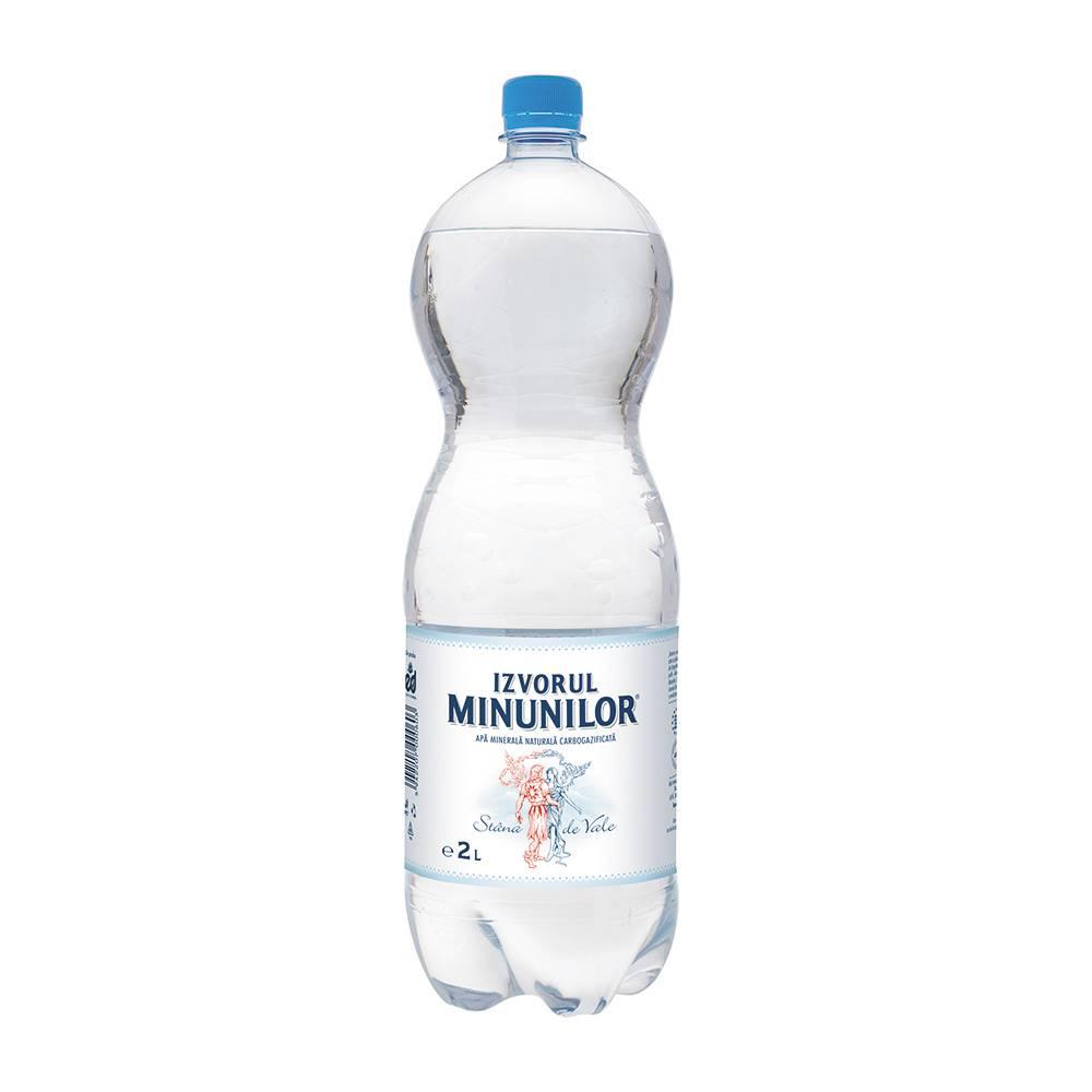 Вода Izvorul Minunilor, 2.0l газированная