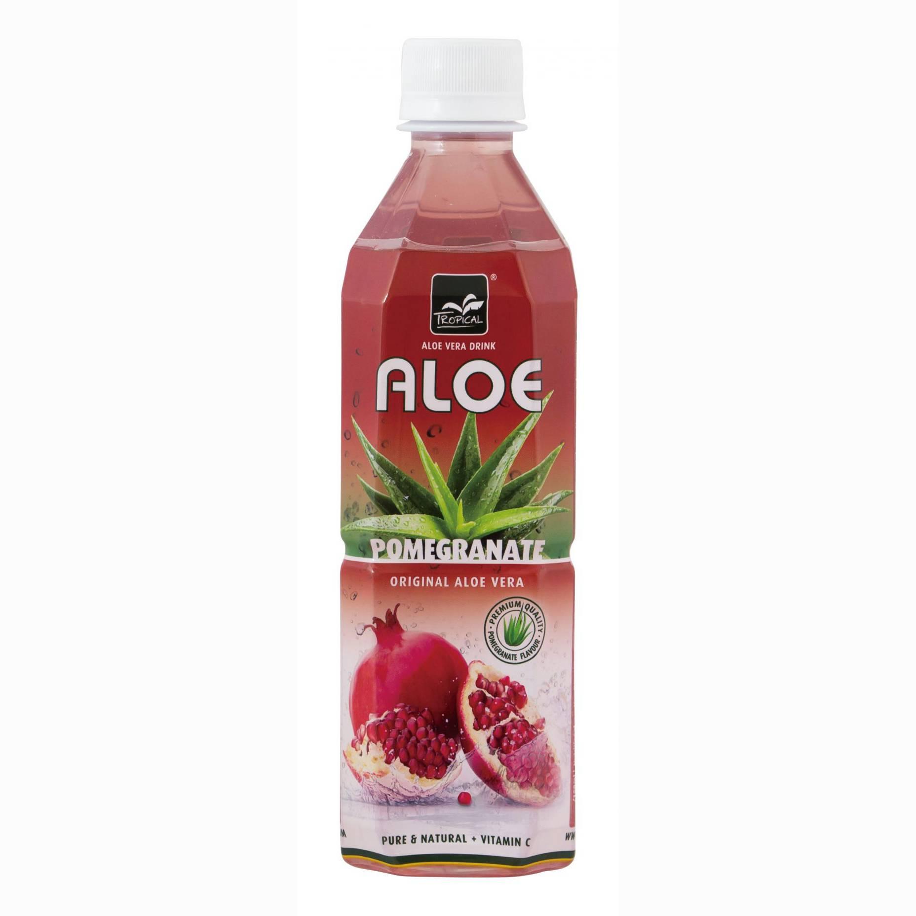 Напиток Tropical Aloe vera Гранат